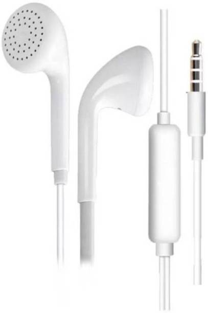 Vooy Wired Earphone with mic Compatible for opo F5, F3 Plus Wired Headset