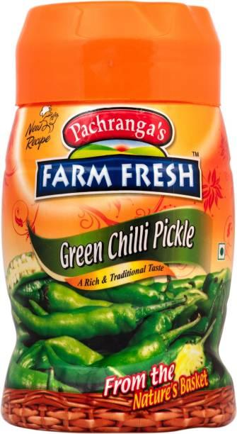 Pachranga's Farm Fresh Green Chilli Pickle Green Chilli Pickle