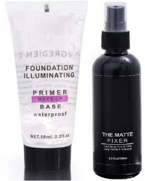 komet MAKEUP BASE PRIMER WITH MAKEUP FIXER Primer - 150 ml (TRANSPARENT) Primer  - 150 ml