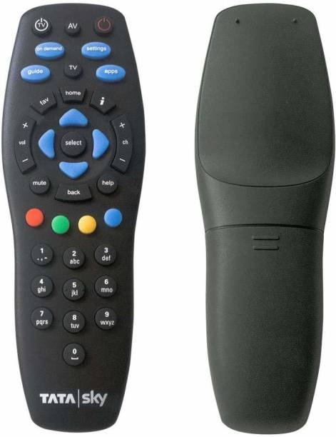 Tata Sky New Body Universal remote Tatasky hd TV, Tatasky dh set up box, Tatasky set up box, New body Tatasky remote Remote Controller