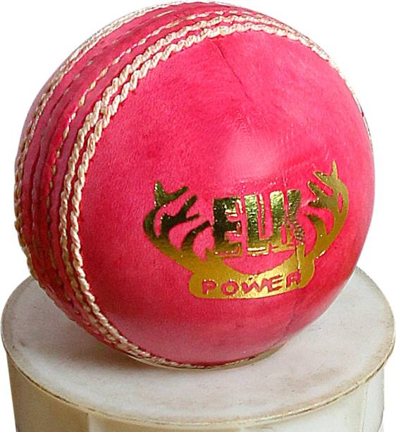 Elk Power Perfectly Hand Stitched Cricket Leather Ball