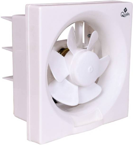 QUALX Exhaust Vento Dlx 150 200 mm Ultra High Speed 6 Blade Exhaust Fan