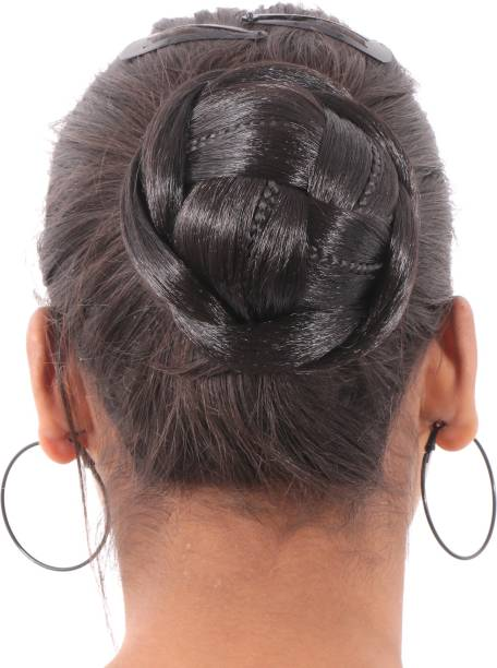 Honbon Black Hair readymade Juda for Girls & women(official modern look) Bun