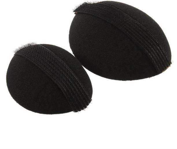 AROOMAN Base Hair Volumizer Bumpits (Puff Maker) (2 Pc) Hair Accessory Set Bun Clip