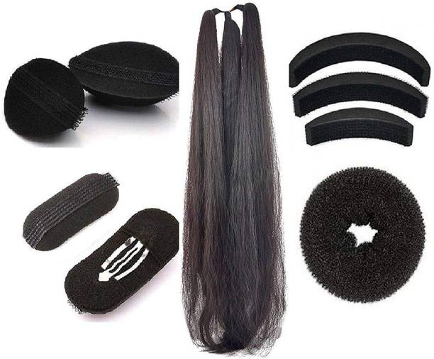 AROOMAN Set of 9 Hair Accessories for Women/Girls Weding and Festival Bun Clip