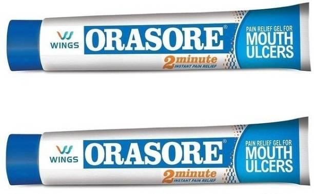 Orasore Mouth Ulcer Gel (Pack of 2) - Regular