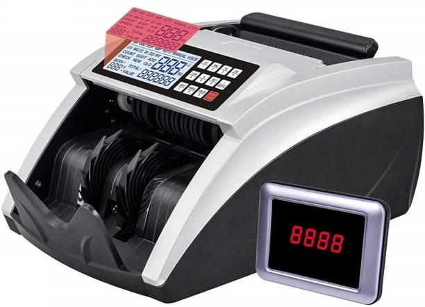Drop2Kart CashCounter with UV/IR/MT/MG Detection & Voice, TFT LCD Display Note Counting Machine