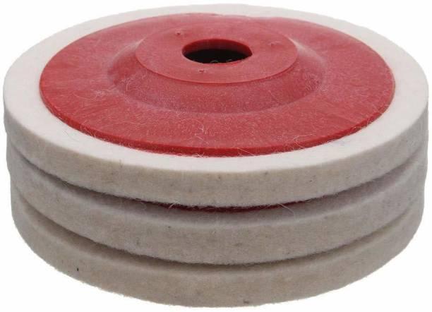 Homdum MAF Wool Felt buffing pad wheel disc for polishing Metal Polisher