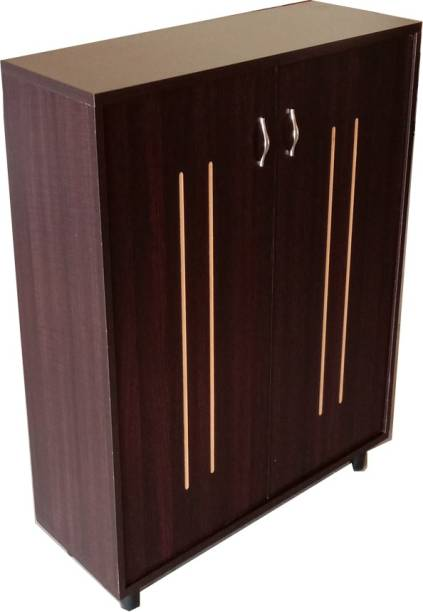 Madainaachi Furniture Smart Two Engineered Wood Shoe Rack