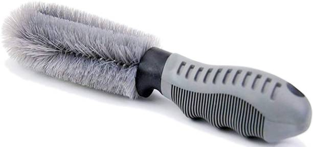 aksmit Car Wheel Rim Brush Hub Clean Wash Brush Pack Of 1 1 Wheel Tire Cleaner