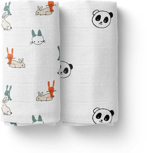 Mom's Home Printed Crib Swaddling Baby Blanket