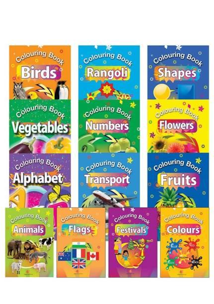 Colouring Books (Set of 13 Books)