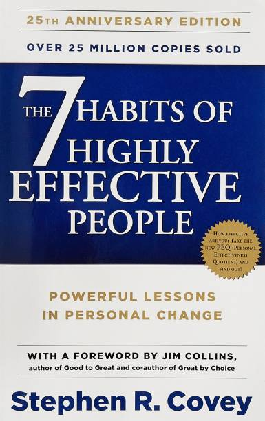 The 7 Habits Of Highly Effective People Paperback English Generic