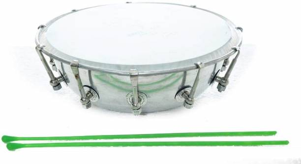 KANHA HUB Steel Dhol Tasha Drum with Stick Conga