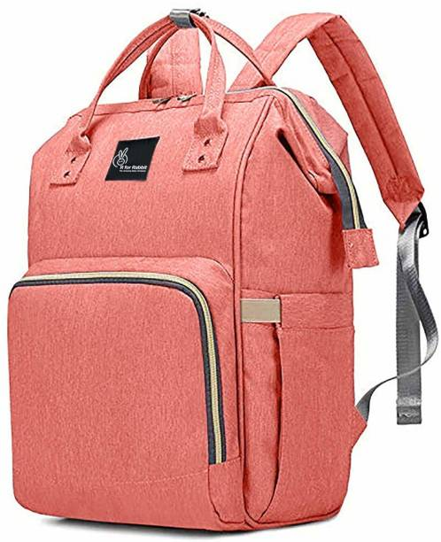 R for Rabbit Caramello - The Smart and Fashionable Diaper Bag/Mother Bag (Pink) Diaper bag
