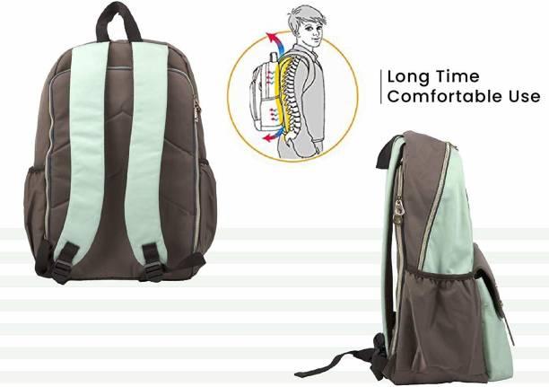 R for Rabbit Caramello Elite Back Pack Diaper Bags - The Smart Waterproof Mother Bag (Green) Diaper Bag