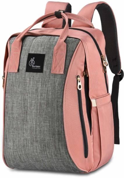 R for Rabbit Caramello Sportz Back Pack Diaper Bags - The Smart Mother Bags (Pink) Diaper Bag