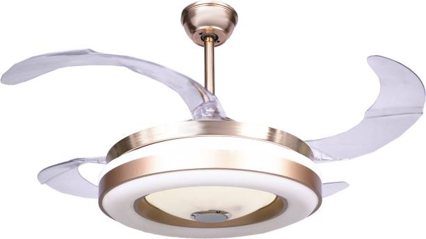 HANS LIGHTING 3 in one LED With Bluetooth speakers 1040 mm Remote Controlled 3 Blade Ceiling Fan