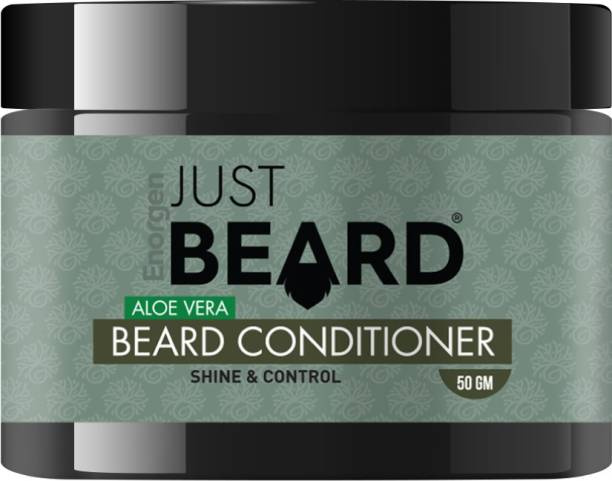 Enorgen JUSTBEARD Beard Conditioner - Luxurious Beard conditioner| Repair Soften and Protect facial hair| Hydrating and Nourishing with Natural Aloe Vera and Shea Butter Beard Cream