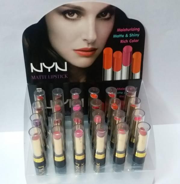 NYN NYN_matte_lipsticks set of 24