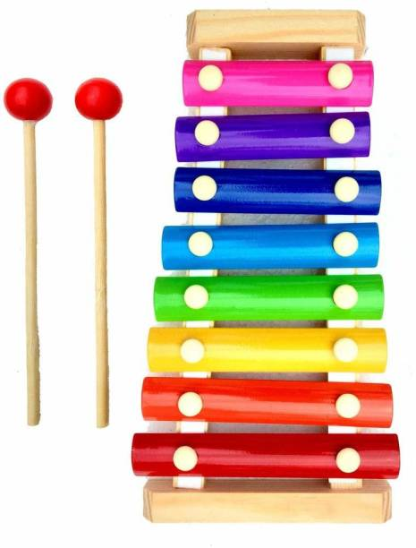 Betterbuy Wooden Xylophone Musical Toy for Children with 8 Note (Big Size)