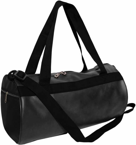 VISTA Black gym bag/sport/multipurposed bag/travel bag/kit bag(black)
