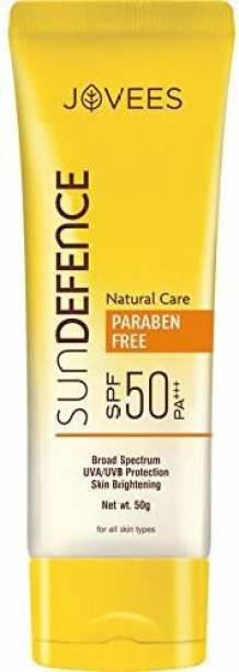 JOVEES Sun Defence Cream SPF-50 PA+++ - SPF SPF 50 PA+++