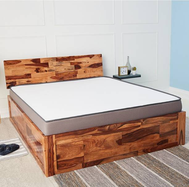 Wakefit Andromeda Solid Wood Queen Box Bed