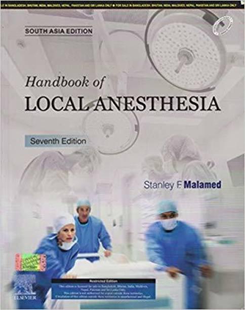 Handbook of Local Anesthesia, 7e: South Asia Edition