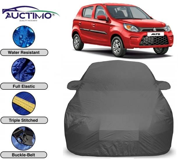 AUCTIMO Car Cover For Maruti Suzuki Alto 800 (With Mirror Pockets)