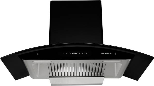 Faber Hood Primus Plus Energy SC HC BK 90 Auto Clean Wall Mounted Chimney