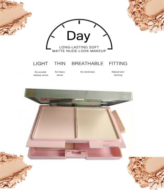 THTC PROFESSIONAL MAKE UP 3 IN 1 COMPACT POWDER Compact