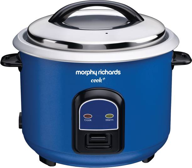 Morphy Richards Cook+ Electric Rice Cooker with Steaming Feature