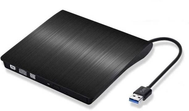 Mak World USB 3.0 External Slim CD/DVD ROM Burner Writer High Speed Data Transfer for PC Laptop External DVD Writer