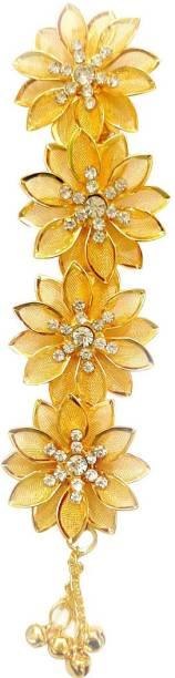 Trendchicks Hair accessories Jewellery Hair Brooch Bun Clip (Gold) Bun Clip