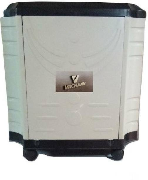 VachannPowerSolutions Single Battery Inverter Trolley(black_white) Trolley for Inverter and Battery