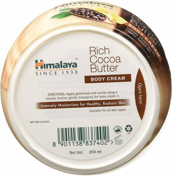 Himalaya Herbals RICCH COCO BUTTER BODY CREAM 200 ML