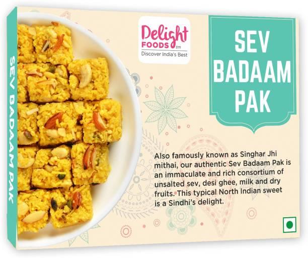 Delight Foods Sev Badaam Pak Box