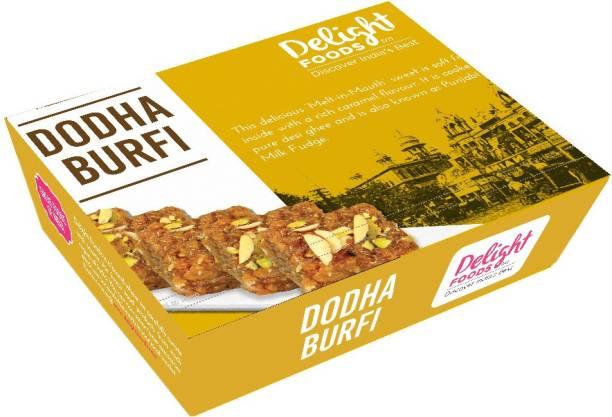 Delight Foods Dodha Barfi (Dhoda Burfi) Box