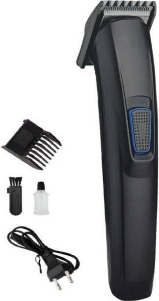 Dizionario HTC Ownmart AT-522 Men's DC Motor Hair Clipper Rechargeable Beard and Hair Trimmer (Black)  Runtime: 120 min Trimmer for Men & Women