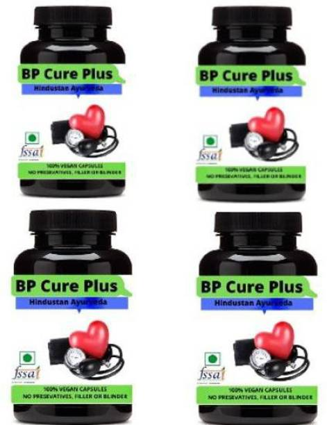 Hindustan Ayurveda BP Cure Plus-Herbal Capsule