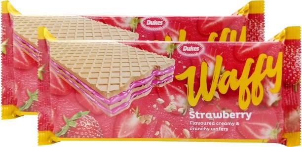 Dukes Waffy Strawberry Wafers