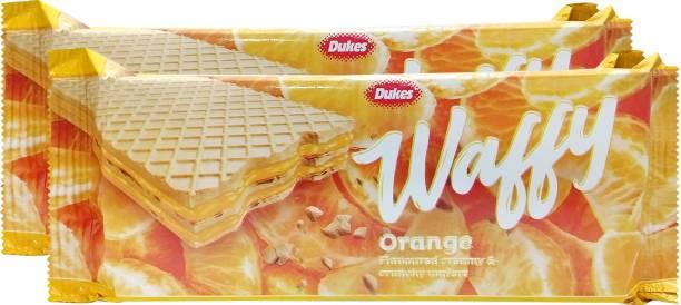 Dukes Waffy Orange Wafers