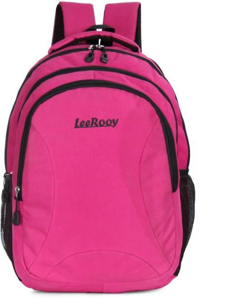 LeeRooy BT BG PINK 05 A1 Waterproof School Bag