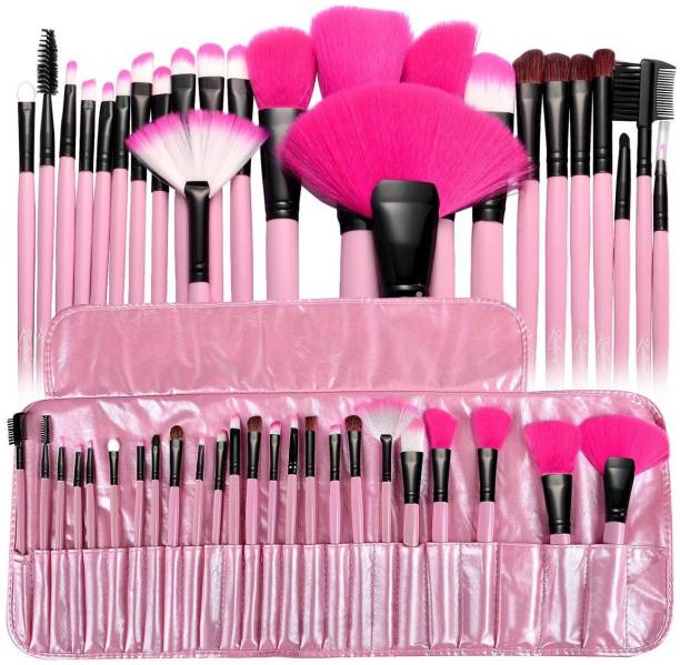 MISS&MAM make up brush 24 pc pink