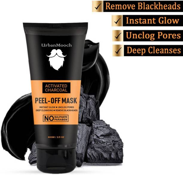 UrbanMooch New & Improved Charcoal Mask for Blackheads, Instant Glow
