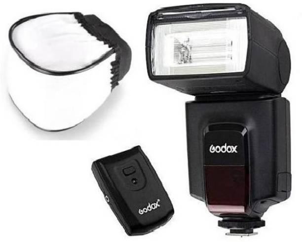GODOX GODX TT520II Flash with WON Diffuser Flash