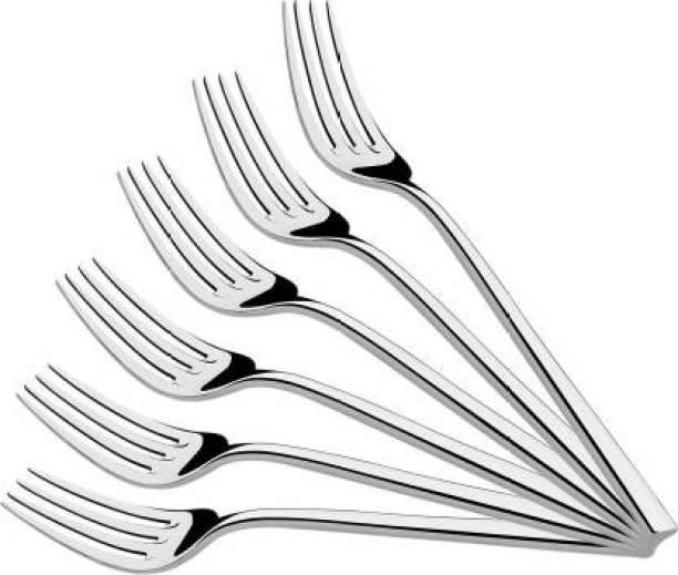 AYW GlossyShine111 Stainless Steel Dinner Fork Set