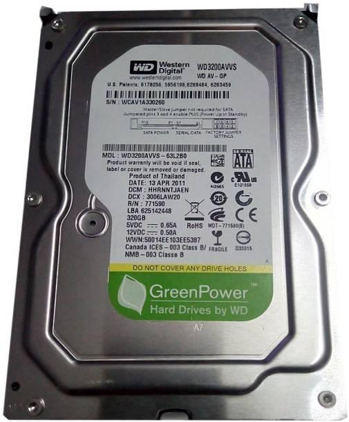 WD GREEN POWER 320 GB Desktop Internal Hard Disk Drive (WD3200AVVSP-63L2B0)