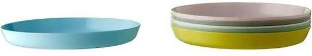 IKEA Plate, mixed colours Quarter Plate